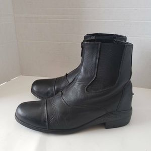 Old West Womens Ankle Boots Booties Black  7